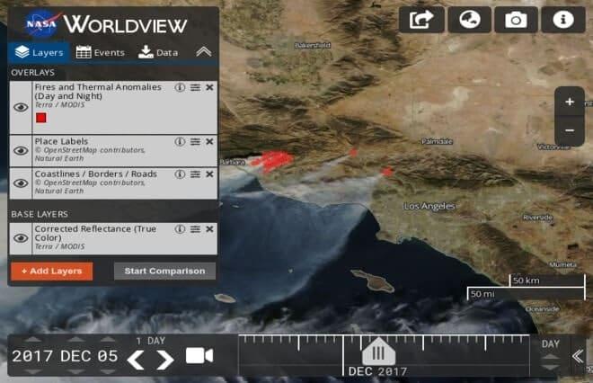 دانلود تصویر ماهواره ای با رزولویشن بالا NASA Worldview