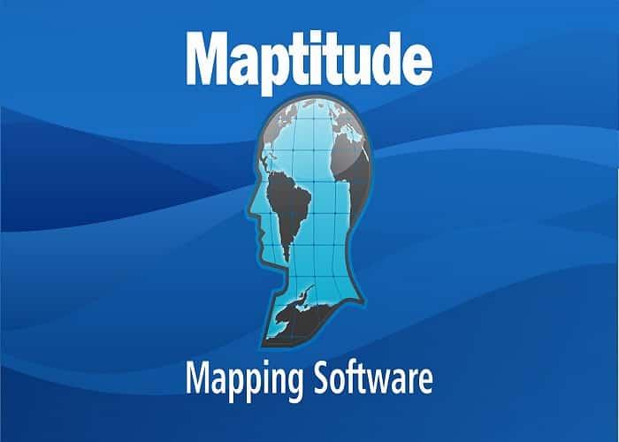 معرفی نرم افزار 2019 Maptitude و امکانات ان