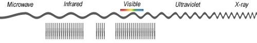 نمونه تعداد زیاد باندهای تصویر hyperspectral