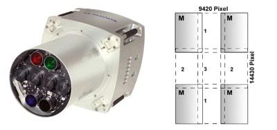 دوربین Ultracam X در فتوگرامتری