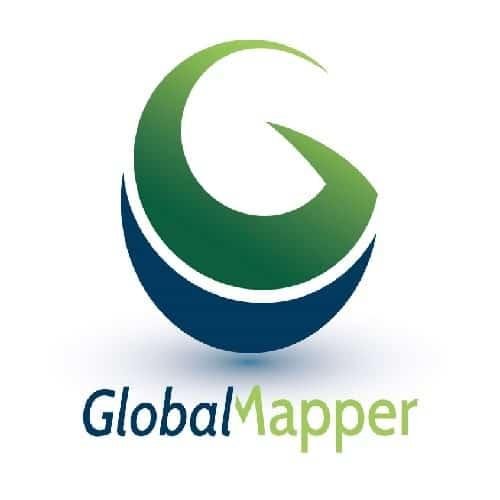 Global Mapper نرم افزار حوزه gis