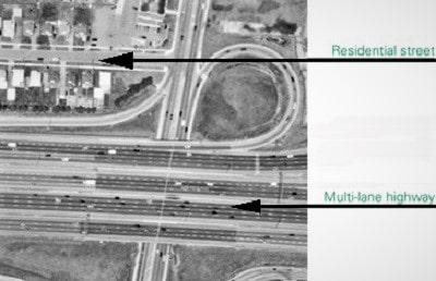 بررسی اشیا در تفسیر عکس هوایی