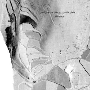 جانمایی پلاک های ثبتی بر روی عکس هوایی و نقشه های قدیمی