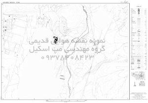 سفارش نقشه هوایی و نقشه های قدیمی