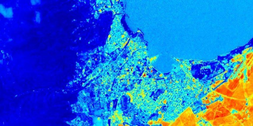 شاخص در تصاویر ماهواره سنتینل 2