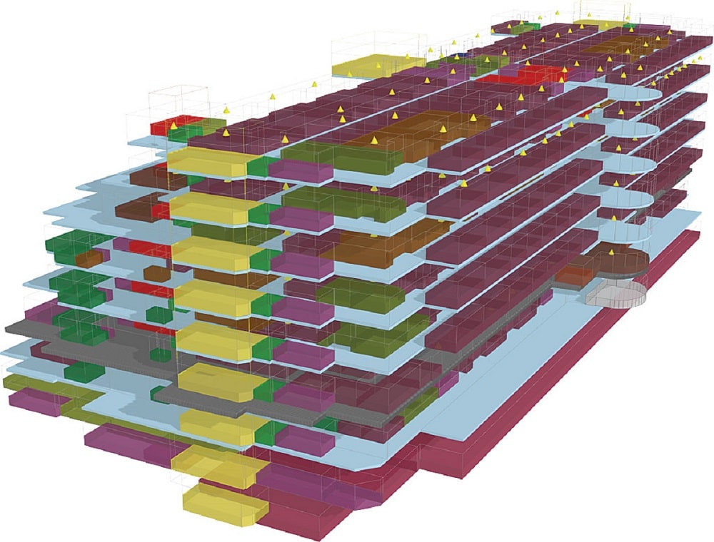 یک مدل سه بعدی در arcgis pro