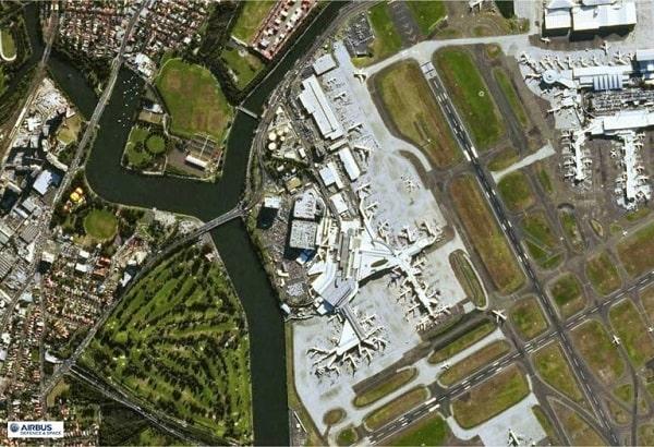 تصویر ماهواره اسپات 7