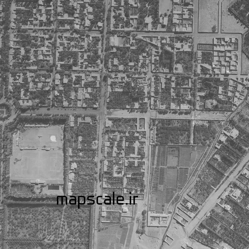 نمونه نقشه هوایی سال 1380-1385