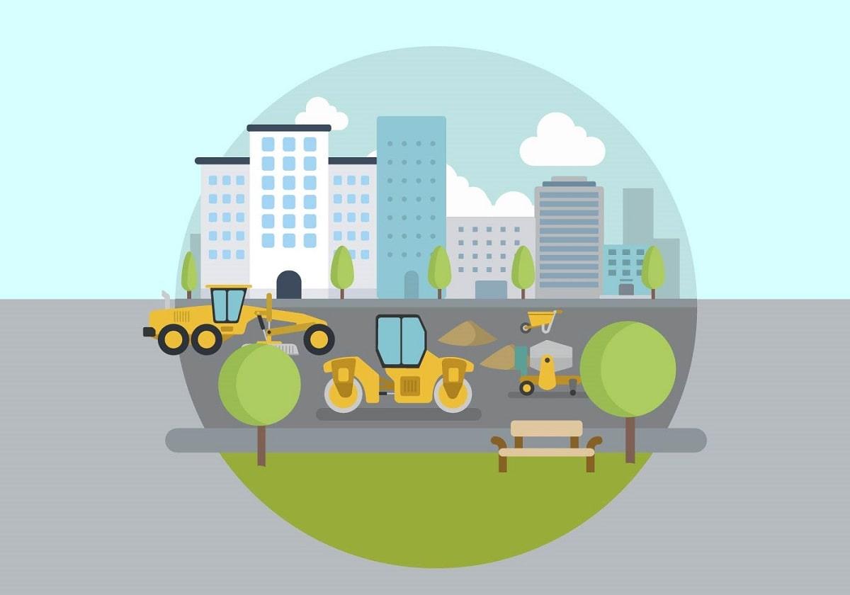 راه سازی و مراحل پروژه راهسازی