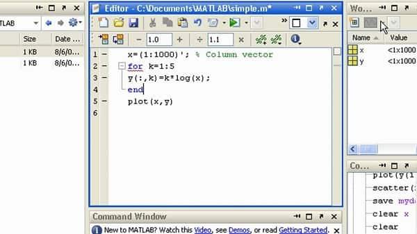زبان برنامه نوسی متلب در نقشه برداری
