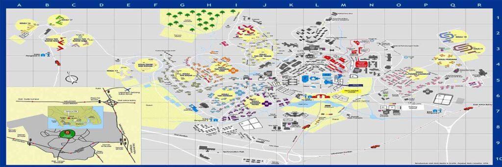 هزینه نقشه یو تی ام UTM